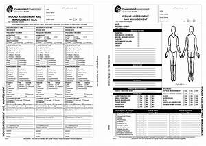 skin wound assessment forms pictures to pin on pinterest With wound care plan template