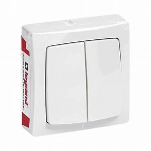 Double Va Et Vient : interrupteur double asl va et vient blanc 97602 ~ Nature-et-papiers.com Idées de Décoration