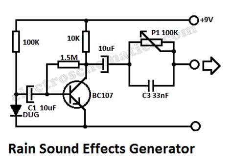 Audio Sound Effects Circuit