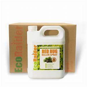 bed bug killer spray 4 x 1 gallon case ecoraider With bed bug cases