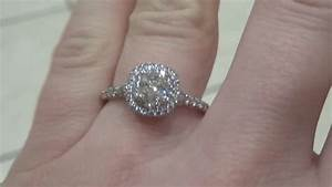 Tiffany Soleste Engagement Ring Indoor Lighting YouTube
