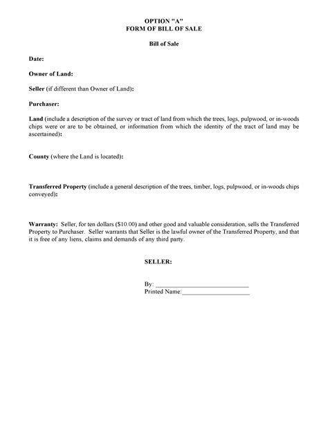 bill of sale form texas pdf free texas trees and timber bill of sale pdf docx