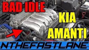 Kia Amanti Bad Idle Misfire  U0026 Spark Plug Change  U0026quot Fix