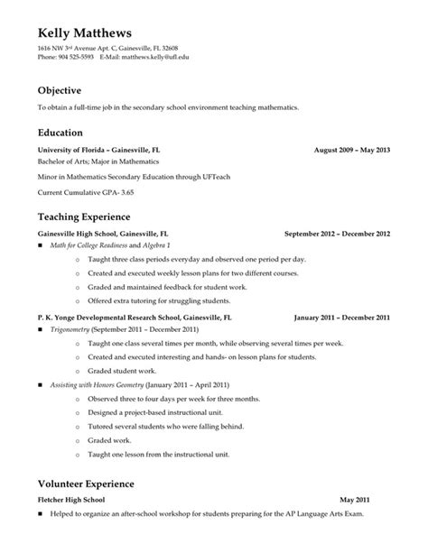 Professional Development On Resume by Current Resume And Professional Development Teaching