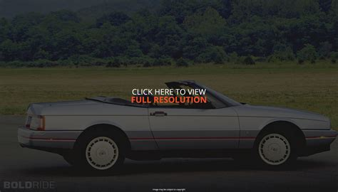 cadillac allante 1992 images - Auto-Database.com