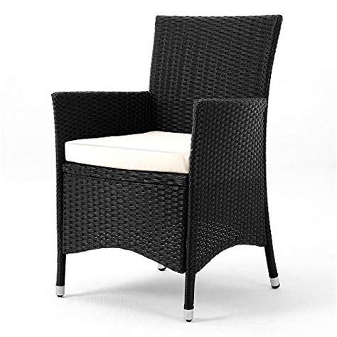 poly rattan garden furniture dining set rectangular table