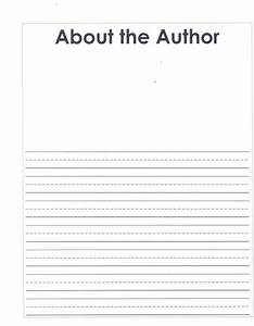 grade 2 writing units of study home With about the author template
