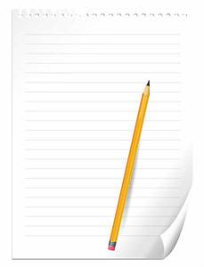Pencil and Notebook Paper PNG Clipart Picture | Gallery ...