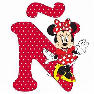 1543 best mickey images on pinterest mini mouse minnie With minnie mouse alphabet letters