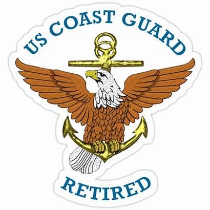 Guard Coast Retired Stickers Redbubble