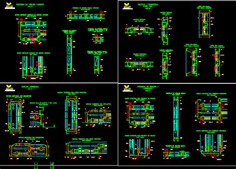 awning type window aluminium details dwg detail  autocad designs cad