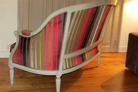 capitonner un canapé louis xvi quot côté sièges tapissier à brest restauration