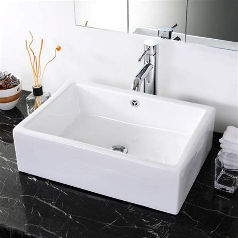 mold in bathroom sink overflow drain aquaterior rectangle bathroom vessel porcelain sink w