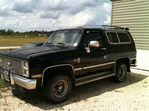 1986 Chevy 4x4 Trucks for Sale