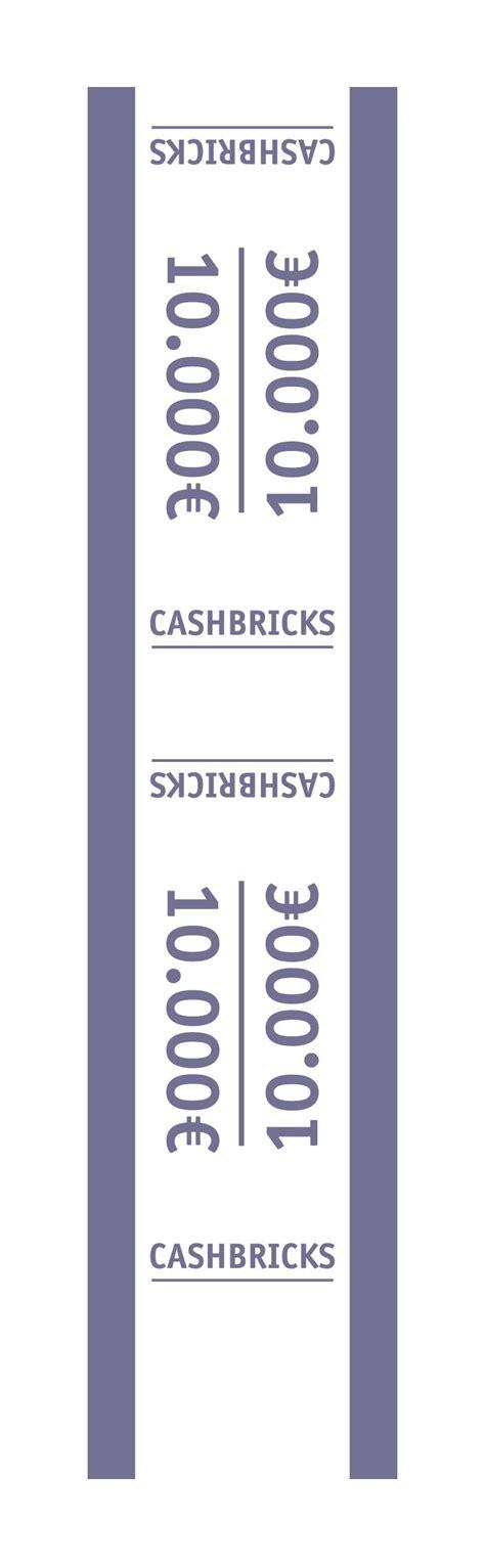 cuisine 10000 euros cashbricks banderole 10 000 für 25 x 500 scheine