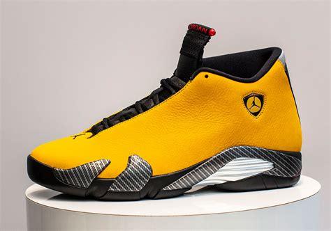 jordan  ferrari yellow bq  release date sneakernewscom