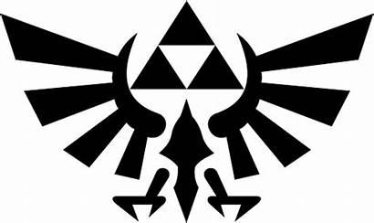 Svg Zelda Legend Triforce Link Symbol Sword