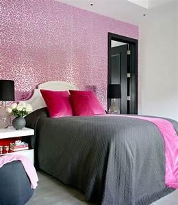 Parure De Lit Rose Et Gris : 1001 conseils et id es pour une chambre en rose et gris sublime ~ Teatrodelosmanantiales.com Idées de Décoration