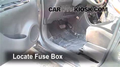 Scion Tc Interior Fuse Box Light by Interior Fuse Box Location 2008 2014 Scion Xd 2008