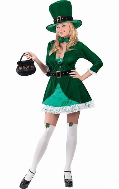 Leprechaun Costume Adult Luscious Joke Delivery