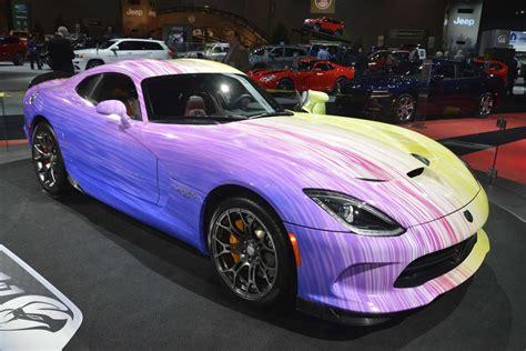 psychodelic dodge viper gtc revealed   chicago auto show