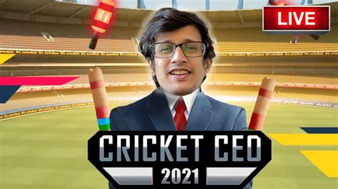 Playing Cricket CEO 2021 Live - YouTube