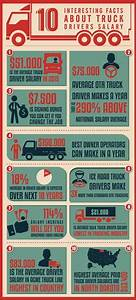 Cdl College Truck Driving School Inforgraphic Parallel