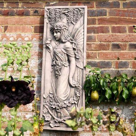 garden wall plaques with bird garden wall plaques