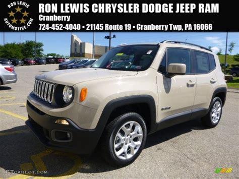 mojave jeep renegade 2015 mojave sand jeep renegade latitude 4x4 106026541