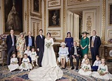 Charlotte steals the show in adorable wedding photo with ...