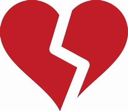 Broken Heart Symbol Clip Clipart Clipartbest
