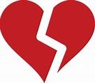 broken heart clipart transparent - Clipground