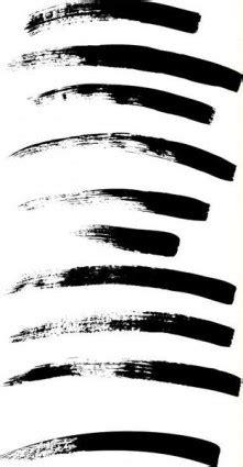 paint brush strokes vector art ai svg eps vector