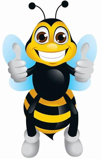 Bee Bumble Clipart Honey Bees Spelling Cartoon