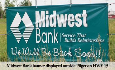 Midwest Bank  The Spirit Of Pilger Is Strong €� Strictly