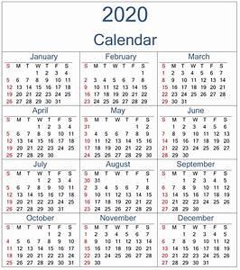 Calendar 2020 Uk Excel Images 309