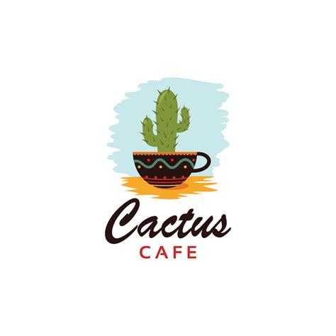 restaurant logo  cactus   cliparts