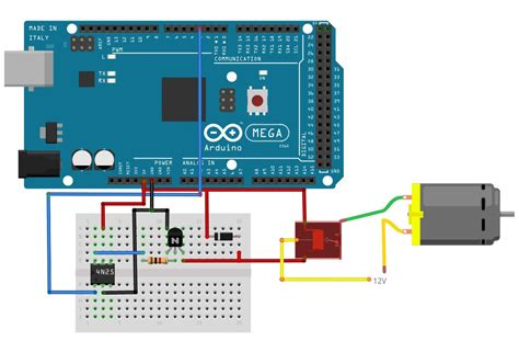 how to use relays to high voltage circuits with an arduino