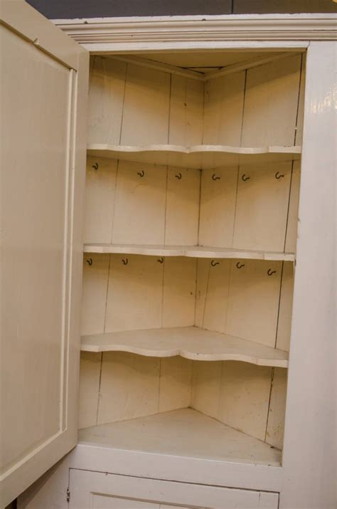 Pine Corner Cupboards by 19th Century Painted Pine Corner Cupboard Pine Cupboards