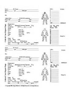 Med Surg Nursing Report Sheets