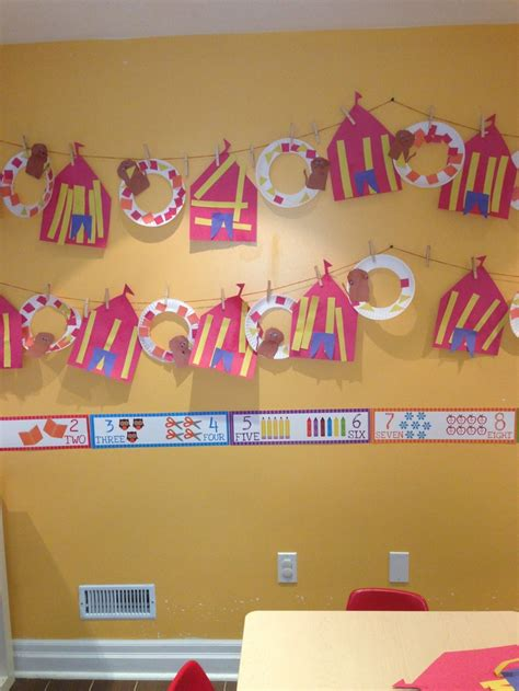 carnival crafts for preschool circus theme tent and on 860
