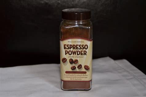 espresso powder playing with flour my favorites