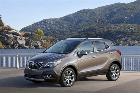 New 2013 Buick Encore Small Crossover, Photos And Details