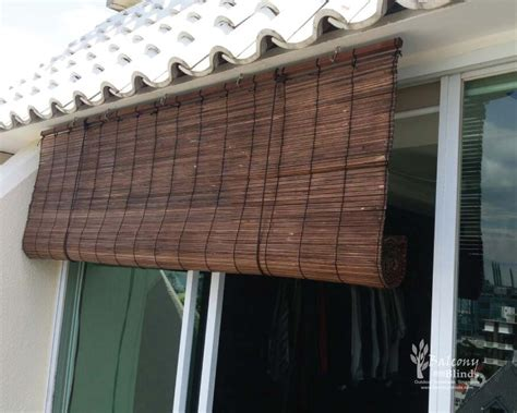 Outdoor Bamboo Blinds by Balcony Outdoor Blinds Shades Gallery Balconyblinds