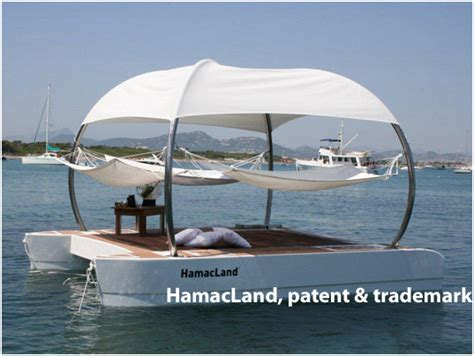 floating water hammock hamacland hamacland floating vip lounge 3781