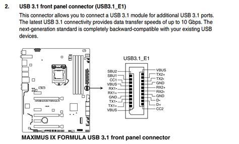 Usb Connectors Pinouts