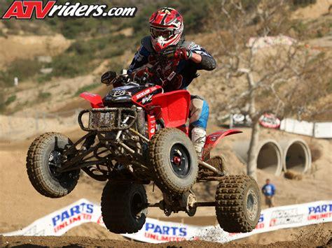 atv motocross clay holmes 2009 ama pro atv motocross rookie joe byrd