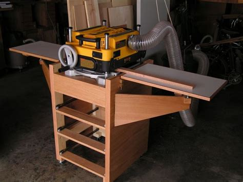 rolling planer stand woodworking tools  woodworking