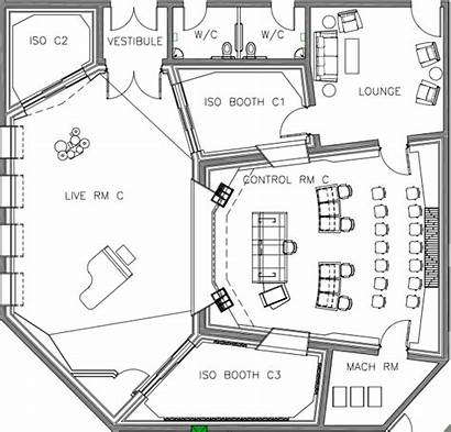 Recording Studio Studios Drawing Area Sound Dimension