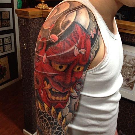 andershannyadragontattooholmsundcolor tattooing hannya tattoo tatuagem  tatuagem katrina